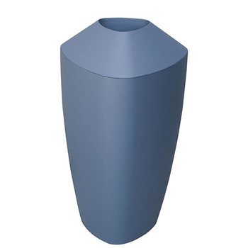 Peter Pepper Tria Bin - Fiberglass Trash Can - 20 Gallon Capacity