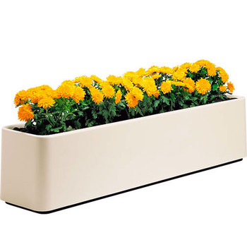 Peter Pepper Curvilinear Fiberglass Planter  Image Shown to Illustrate Design - Not to Scale
