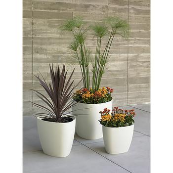 Peter Pepper Tria Fiberglass Planters Grouping