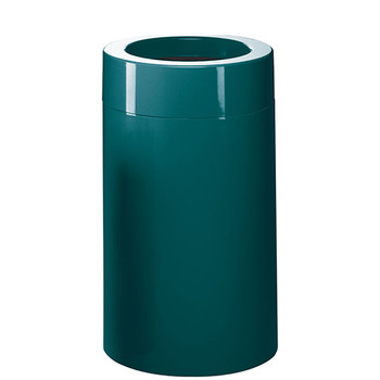 Peter Pepper Fiberglass Trash Can 1093 - 18 x 32 - 24 Gallon