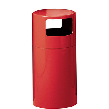 Peter Pepper Trash Can 1097 - Fiberglass - 12 x 25 - 7 Gallon