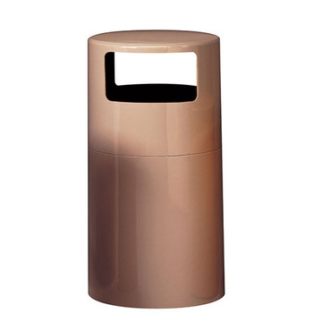 Peter Pepper Trash Can 1098 - Fiberglass - 18 x 38 - 7 Gallon