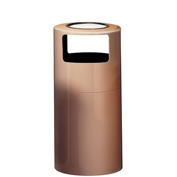 Peter Pepper Ash & Trash Can 1098U - Fiberglass - 18 x 38 - 24 Gallon