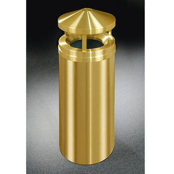 Glaro Atlantis Canopy Top Trash Can - 15 x 39 - 16 Gallon - H1501BE