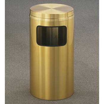 Glaro Atlantis Flat Top Trash Can - 15 x 31 - 10 Gallon - C1566BE