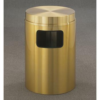 Glaro Atlantis Flat Top Trash Can - 20 x 31 - 17 Gallon - C2066BE