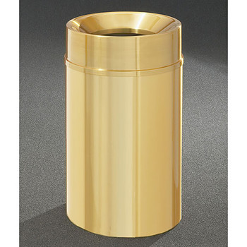 Glaro Atlantis Funnel Top Trash Can - 20 x 35 - 33 Gallon - F2035BE