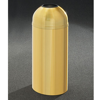 Glaro Atlantis Open Dome Top Trash Can - 15 x 36 - 16 Gallon - T1536BE