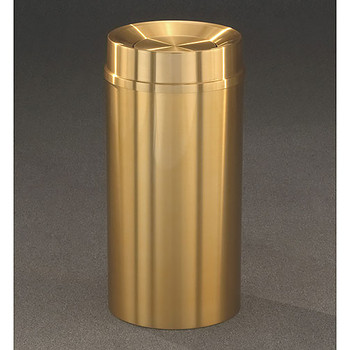 Glaro Atlantis Tip Action Top Trash Can - 15 x 33 - 16 Gallon - TA1533BE