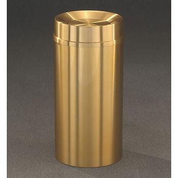 Glaro Atlantis Tip Action Top Trash Can - 20 x 35 - 33 Gallon - TA2035BE