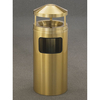 Glaro Atlantis Canopy Sand Top Ash and Trash Can - 15 x 39 - 10 Gallon - H1503BE