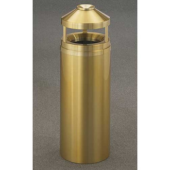 Glaro Atlantis Canopy Funnel Top Ash and Trash Can - 12 x 39 - 12 Gallon - H1202BE