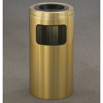 Glaro Atlantis Sand Top Ash and Trash Receptacle - 15 x 31 - 10 Gallon