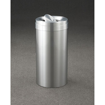 Glaro New Yorker Value WasteMaster Tip Action Top Trash Can - 15 x 30 - 23 Gallon - TA1537SA Please note:  This is not a photo of this unit, it is only a representation of design and color.