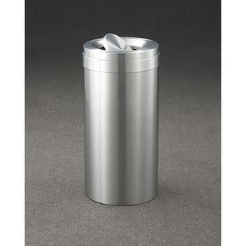 Glaro New Yorker Value WasteMaster Tip Action Top Trash Can - 15 x 30 - 23 Gallon - TA1537SA