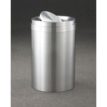 Glaro New Yorker Value WasteMaster Tip Action Top Trash Can - 20 x 31 - 41 Gallon - TA2037SA