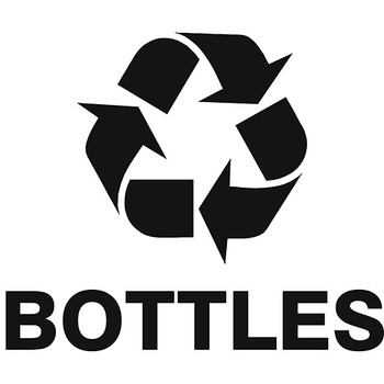 Recycling Bottles Label