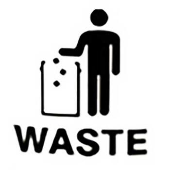 Waste - Tidy Man Label