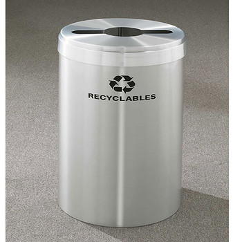 Glaro RecyclePro Value Single Stream Recycling Bin - 20 x 30 - 41 Gallon - M2042SA