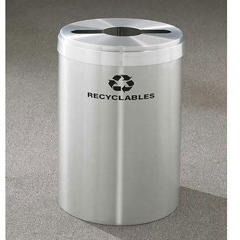 Glaro RecyclePro Value Single Stream Recycling Bin - 20 x 30 - 41 Gallon - M2042SA