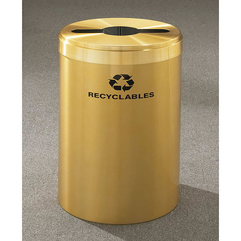 Glaro RecyclePro Value Single Stream Recycling Bin - 20 x 30 - 41 Gallon - M2042BE