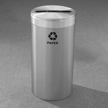 Glaro RecyclePro Value Paper Recycling Bin - 15 x 30 - 23 Gallon - P1542SA