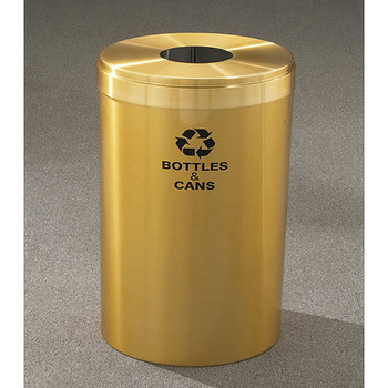 Glaro RecyclePro Value Bottle Recycling Bin - 20 x 30 - 41 Gallon - B2042BE