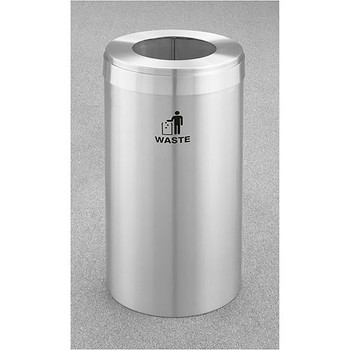 Glaro RecyclePro Value Waste Bin - 15 x 30 - 15 Gallon - W1542SA