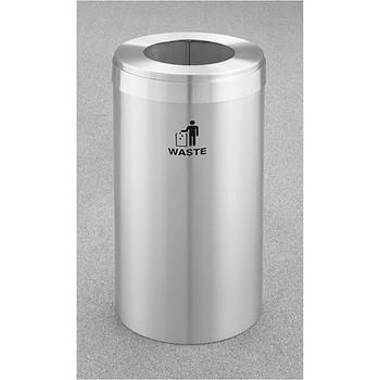 Glaro RecyclePro Value Waste Bin - 15 x 30 - 15 Gallon - W1542SA