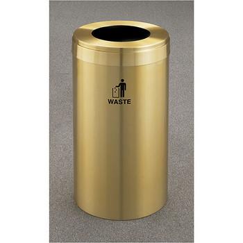 Glaro RecyclePro Value Waste Bin - 15 x 30 - 23 Gallon - W1542BE