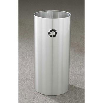 Glaro RecyclePro Open Top Recycling Bin - 12 x 23 - 11 Gallon - RO1223SA
