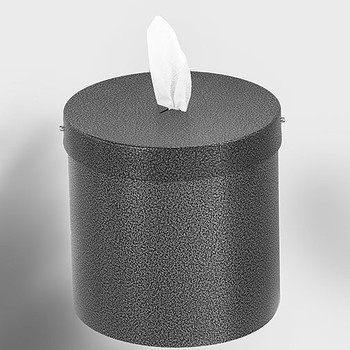 Glaro Wall Mounted Antibacterial Wipe Dispenser - W1015SV - Silver Vein