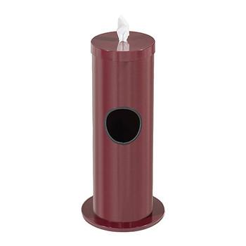 Glaro Antibacterial Wipe Dispenser F1029BY - Burgundy Finish