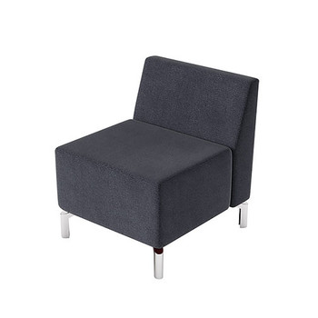 Woodstock Jefferson Straight Chair - Charcoal