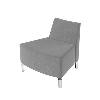 Woodstock Jefferson Outside Curve Chair - Taupe