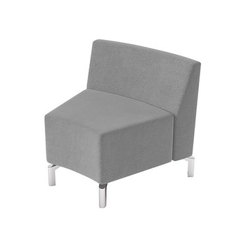 Woodstock Jefferson Inside Curve Chair - Taupe