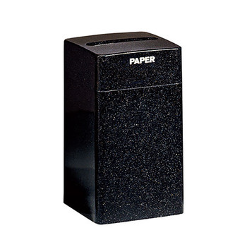 "Peter Pepper Fiberglass Square Recycling Bin - 1031 - 16 x 28 - 22 Gallons - 12"" x 1-1/4"" Paper Slot"