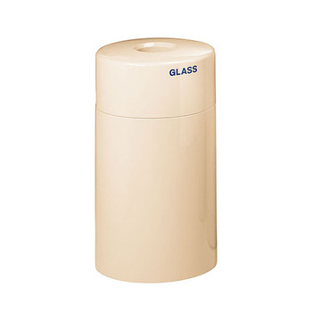 Peter Pepper Fiberglass Cylindrical Recycling Bin - 1041 - 16 x 28 - 17 Gallons