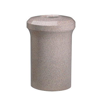 Peter Pepper Fanfare 1079 Trash Can - Fiberglass - 50 Gallon