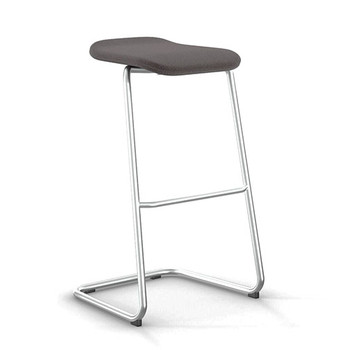 Peter Pepper StackR Stacking Stool with Chrome Frame