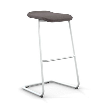 Peter Pepper StackR Stacking Stool with White Frame