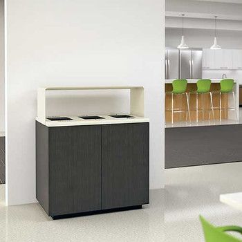 Peter Pepper ReForm Recycling Station - RF36 - With Optional Tray Top
