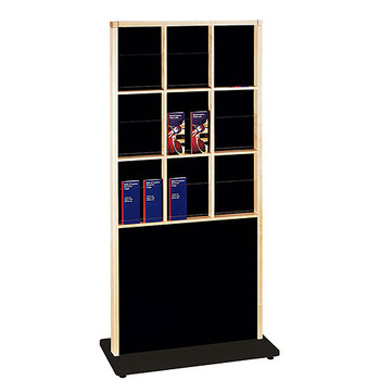 Peter Pepper 5606 - 18 Pocket Double Sided Magazine and Literature Rack