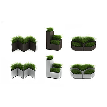 Magnuson Kaskad Planter Configuration Options - Aerial