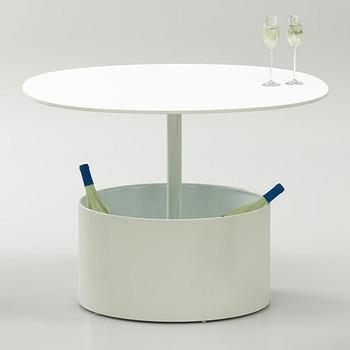 Magnuson Laura Planter Table as Wine Storage