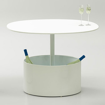 Magnuson Laura Planter Table as Wine Storage