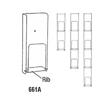 Peter Pepper's 660 Narrow Literature Racks