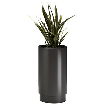 Magnuson Cirkel Planter in Black