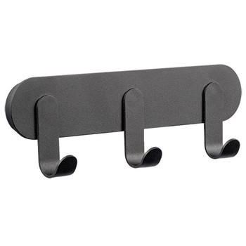 Magnuson Coat Hook Rail NINO-H25 - Black