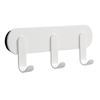 Magnuson Magnetic Coat Hook Rail NINO-H25 - White